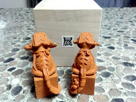 フトアゴ狛犬2